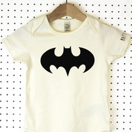 'Batman' Organic Cotton Babygrow or Jumpsuit