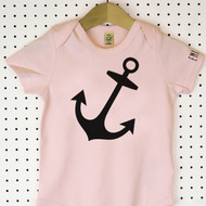 'Hello Sailor' Organic Cotton Babygrow or Jumpsuit