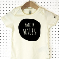 'Made In' Organic Cotton Babygrow or Jumpsuit