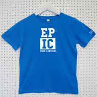 Personalised 'Epic' Child's Organic Cotton T-shirt