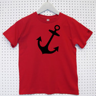 'Anchor' Child's Organic Cotton T-shirt