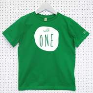 Personalised 'Wild One' Child's Organic Cotton T-shirt