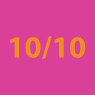 10/10 pink Greeting Card