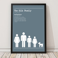 Personalised 'Family Definition' Poster