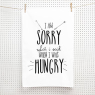 Personalised 'I Am Sorry Tea Towels'