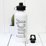 Personalised Bubble 'Name' Water bottle