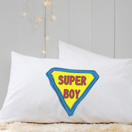 Personalised 'Superman' Pillow Case