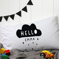 Personalised 'Cloud' Pillow Case
