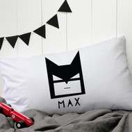 Personalised 'Batman' Pillow Case