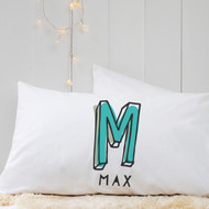 Personalised 'Initial'  Pillow Case