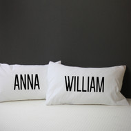 Personalised 'Name' Pillow Case