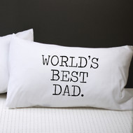 Personalised 'Worlds Best Dad' Pillow Case