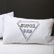 Personalised 'Super Dad' Pillow Case