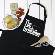 Personalised 'The Grillfather' Apron