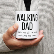 Personalised 'Walking Dad' Mug