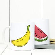 Personalised 'Fruit'  mug