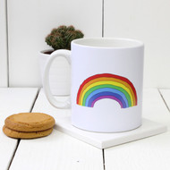Personalised 'Rainbow' mug