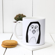 Personalised 'Penguin' mug