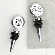 Personalised 'Hobby Wine'  Bottle Stopper