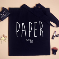 Personalised 'Paper Orgy' Tote Bag