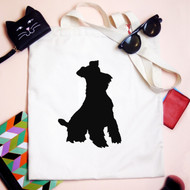 Personalised 'Dog Silhouette' Bag
