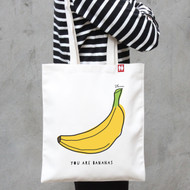 Personalised 'You Are Bananas' Bag
