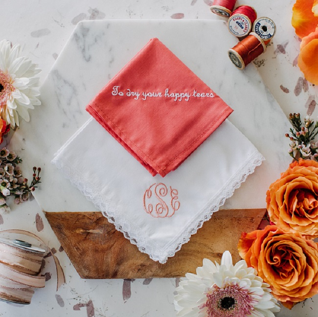 Wedding Handkerchiefs For The Family: Wedding Handkerchief Tradition