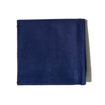 Navy men's handkerchief