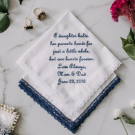 Bride Hanky Gift {A Daughter}
