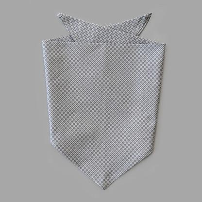Grey Diamond Pet-kerchief Bandana