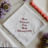 Mother of the Bride Mother of the Groom Handkerchief