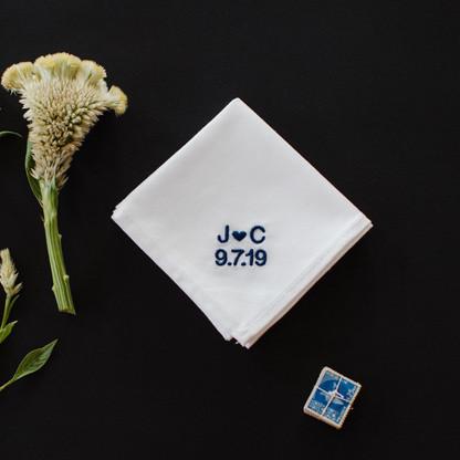 Men's Wedding Handkerchief