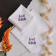 Wedding Handkerchief Set
