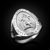 Gold St. Christopher Ring