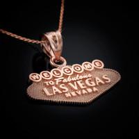 Rose gold Las Vegas necklace