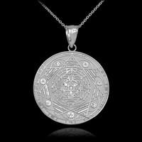White Gold Chakra Necklace