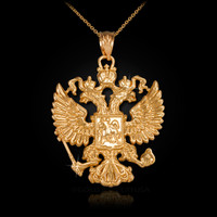 Gold Russian Necklace