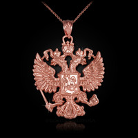 Rose Gold Russian necklace
