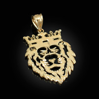 Gold Lion King DC Pendant (S/L)