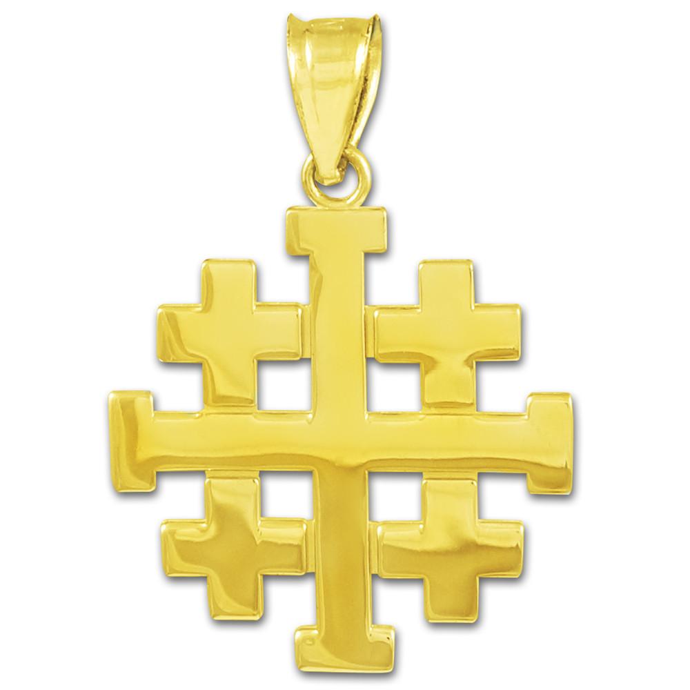 Polished Gold Jerusalem