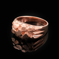 Rose Gold Midsize Nugget Ring