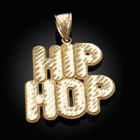 Gold Hip Hop DC Pendant