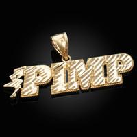 Gold Pimp Hip-Hop DC Pendant