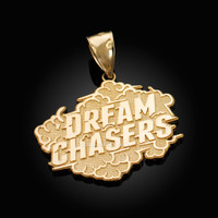 Gold DREAM CHASERS Pendant