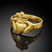 Gold Classic Claddagh Ring
