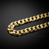 Solid Gold Men's Cuban Link Chain