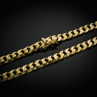 Gold Men's Cuban Link Chain