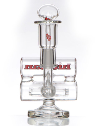 4 in. Hitman Baby Double Barrel Recycler - Red
