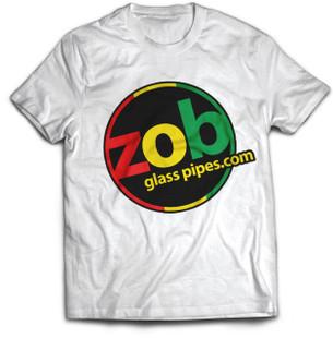 Zob Rasta T-shirt on White