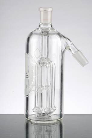 HVY Ash Catcher with 4 Arm Shower Tree Perc - 14mm, 45 Degrees